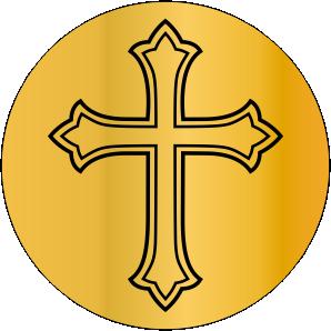 Sinete religioso modelo cruz