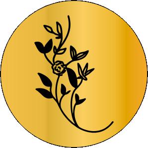 Sinete Floral Mod 01
