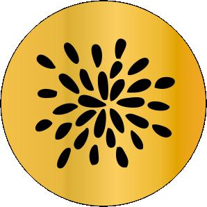 SINETE-PADRÃO -FLORAL- MOD-19
