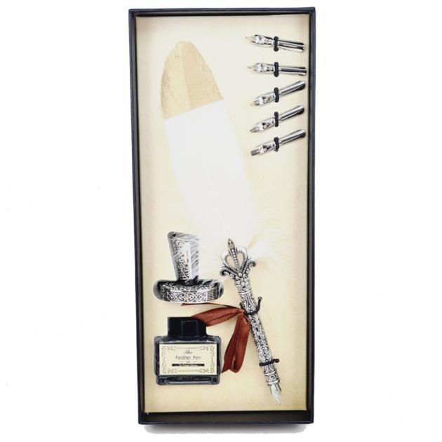 kit-pena-caligrafica-vintage-completo-branco