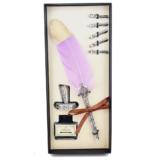 kit-pena-caligrafica-vintage-completo-lilas