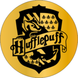 SINETE-HOGWARTS-CASA -HUFFLEPUFF 30 MM
